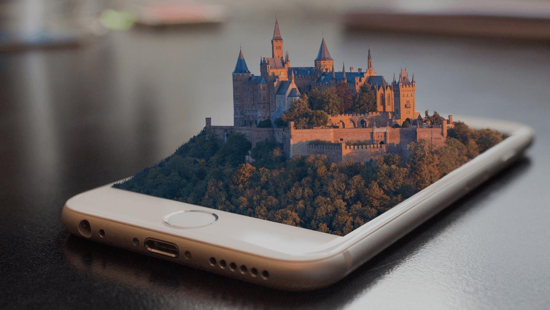 Qualquer utilizador tem acesso a experiências de realidade aumentada no seu smartphone ou tablet.
