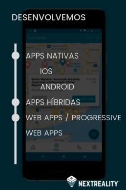 soluções de Desenvolvimento Mobile