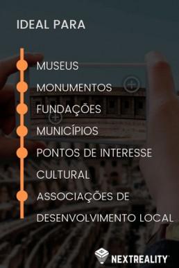 Solucoes de Realidade Aumentada para o Turismo