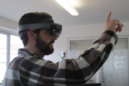 2016- 1st Hololens App in Arabic & Portuguese
