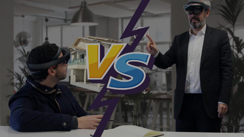 Realidade Aumentada vs. Realidade Virtual