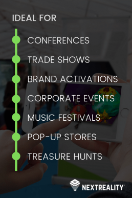 The Augmented Reality in Advertising and events market by NextReality