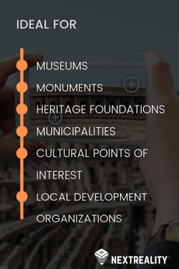 The Augmented Reality in Tourism and Heritage - NextReality