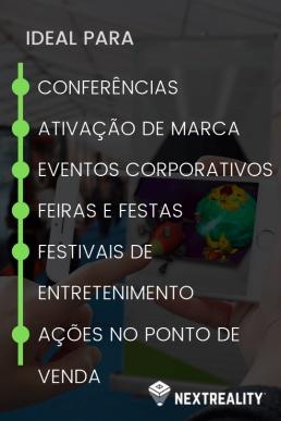 Realidade Aumentada no setor do Marketing e Eventos - NextReality