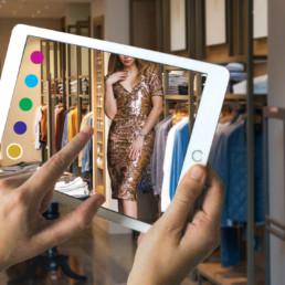 Realidade Aumentada nas compras online