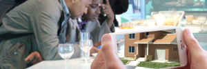 augmented reality at the real estate