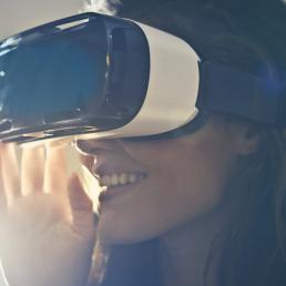 Óculos e experiência de Realidade Aumentada